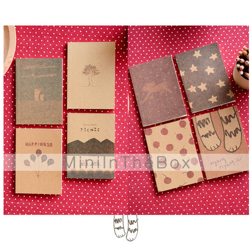 Dreaming Time Kraft Paper Cover Diary Creative Notebook ...