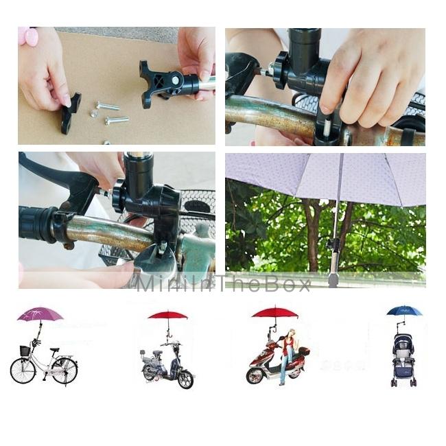 1pcs fauteuil roulant v lo v lo chaise poussette porte - Porte parapluie pour poussette ...