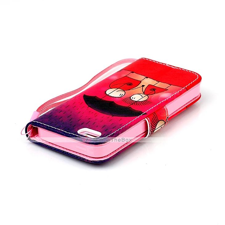 pour coque iphone 5 portefeuille avec support clapet coque coque int grale coque dessin. Black Bedroom Furniture Sets. Home Design Ideas