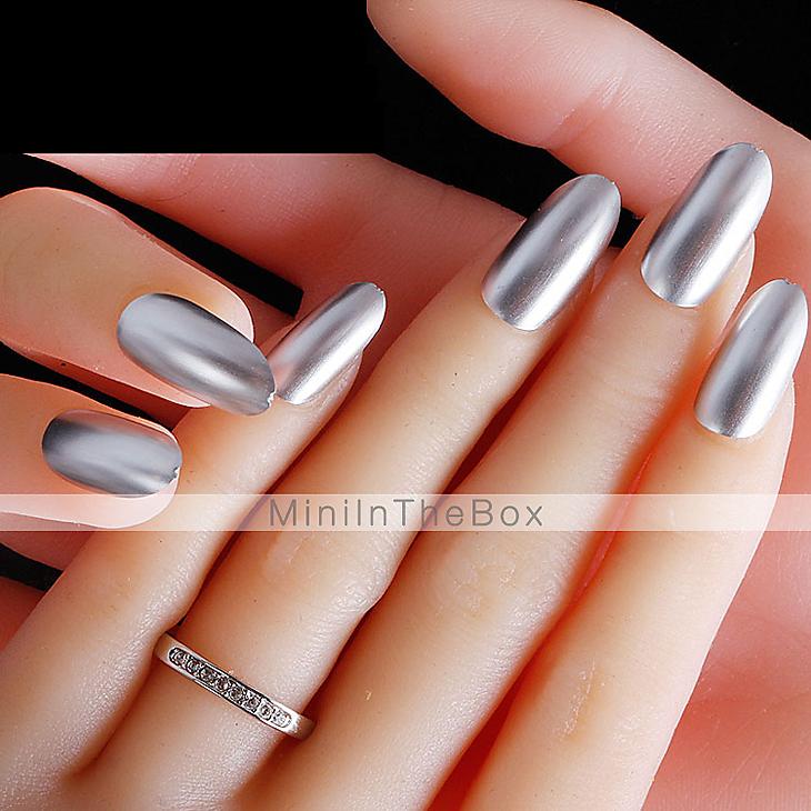 Mirror Effect Gel Nail Polish: YeManNvYou®Metallic Mirror Effect Soak Off UV Gel Nail