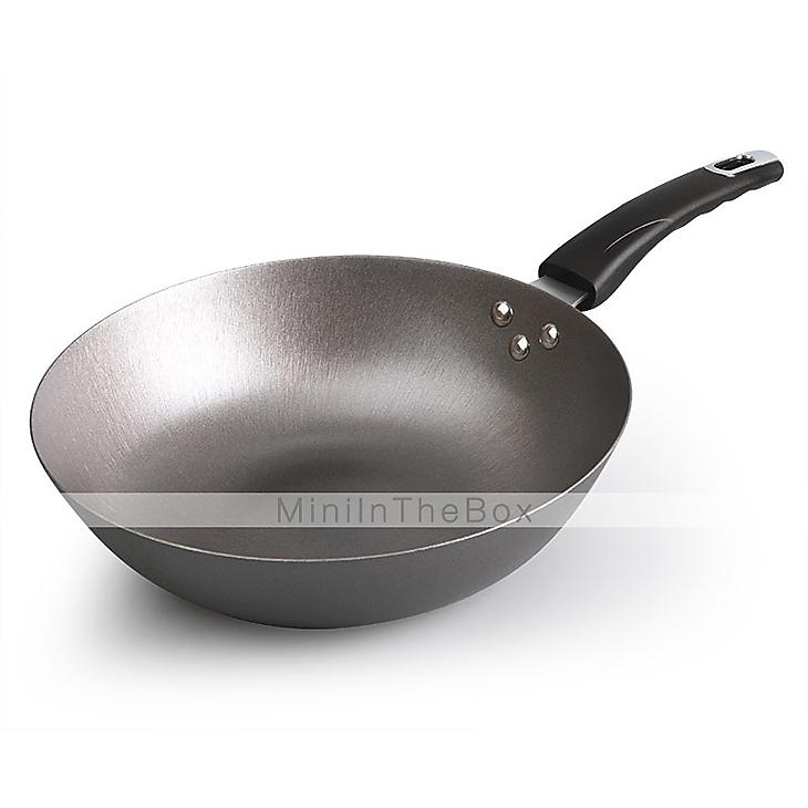 gusseisen pfanne wok kocht pfe ohne beschichtung antihaft. Black Bedroom Furniture Sets. Home Design Ideas