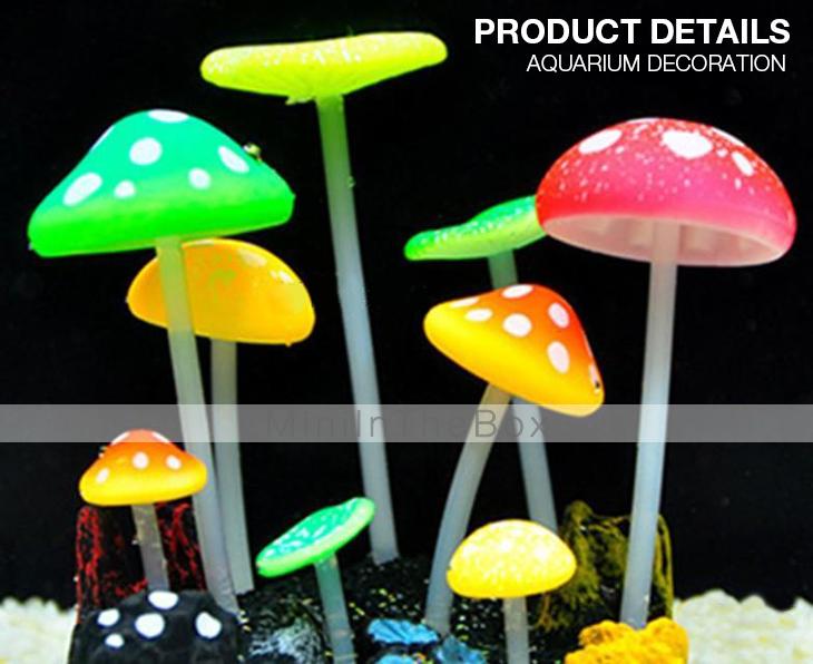 Fluoreszierende pilze design dekoration ornament f r aquarien 2380493 2017 - Dekoration pilze ...