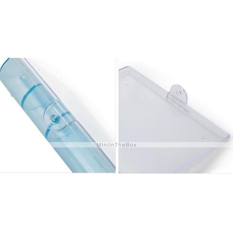 Bo te de rangement plastique avec fonctionnalit est avec couvercle voyage pour bijoux de for Boite plastique avec couvercle