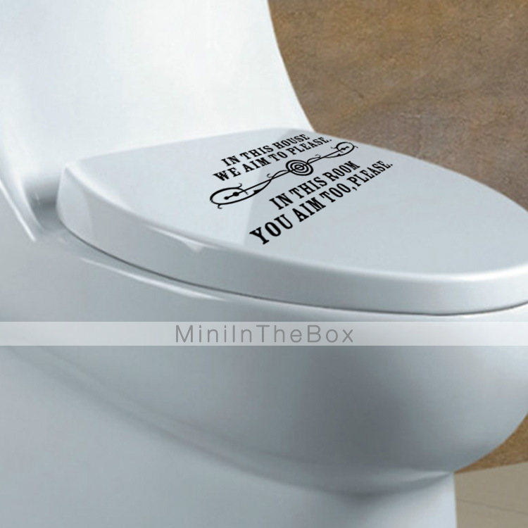 Woorden en citaten vormen wall stickers vliegtuig muurstickers vinyl 20 10cm 4959922 2016 - Vliegtuig badkamer m ...