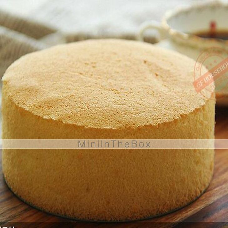 Bread baking mold without bottom