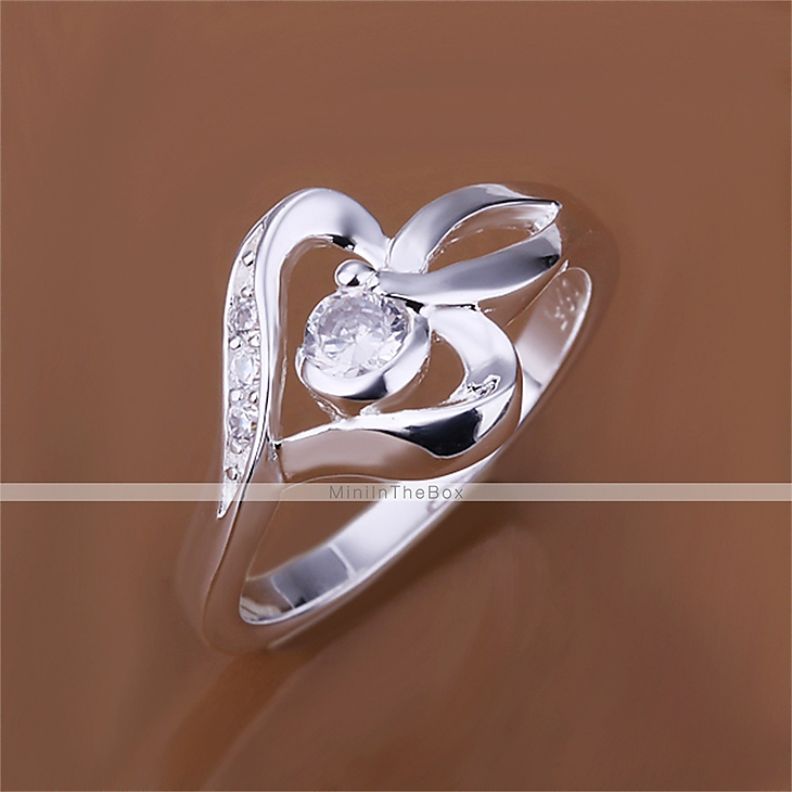 Ring AAA Cubic Zirconia Halloween Wedding Party Daily Casual Jewelry