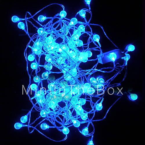 6m 3w 32 led blauw licht gedimd bolvormige led string lamp 110 220v 227438 2016 - String kantoor ...