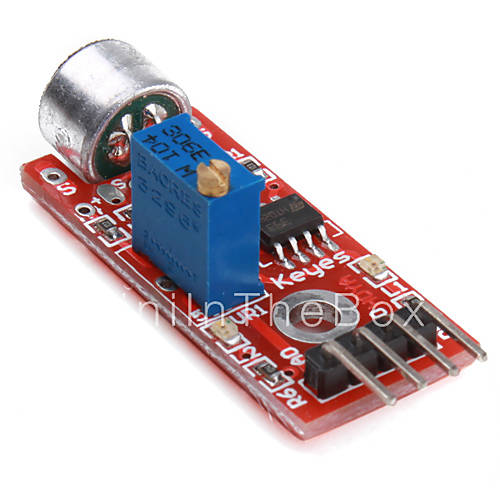 Electronics diy for arduino microphone sound detection