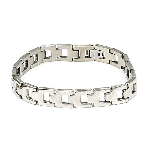 мужской браслет серебро титана стали (купить 1 получить 1 подарок). мужской браслет серебро титана стали