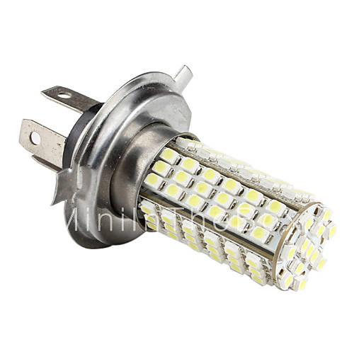 h4 7.14w 1210 SMD 102-LED bianco lampadina per lampade per auto (12V ...