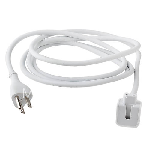 extension power cord cable for macbook air pro white 383597 2017. Black Bedroom Furniture Sets. Home Design Ideas