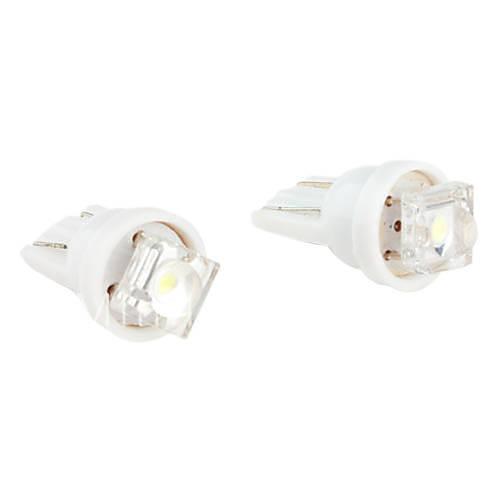 t10 1 lampadina LED a luce bianca per auto di indicare    cruscotto    larghezza lampade (2 pack     -> Lampade A Led Dc