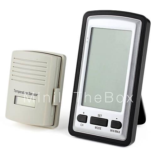 Kg218 sans fil l 39 int rieur thermom tre ext rieur - Thermometre interieur exterieur sans fil ...
