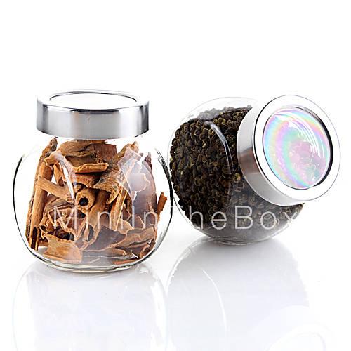 200ml k che glas menage lagerung von lebensmitteln verschlossenen flasche 8 5 8 5 6 cm. Black Bedroom Furniture Sets. Home Design Ideas