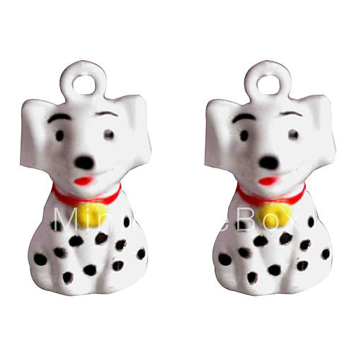 Simpatico cartone animato spotty cane modello campanella