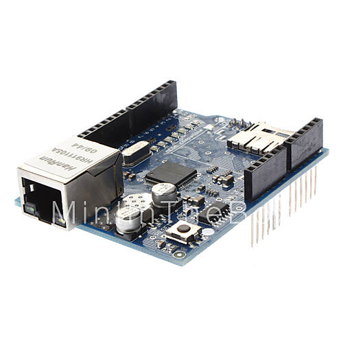 Ethernet Arduino Library, using WizNET Ethernet