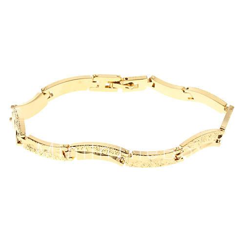 Мужская Золотой браслет Матирование 83 распродажа со скидкой, покупайте дещевле Мужская Золотой браслет Матирование