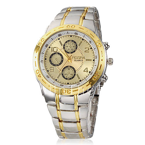 s dress gold alloy band wrist