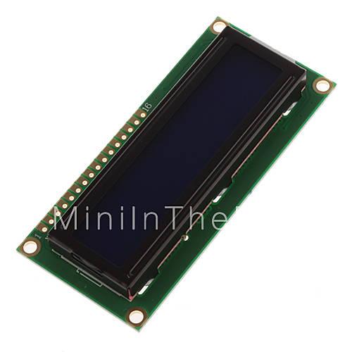 5v scherm wit karakter blauw backlight lcd module 1602 voor de voor arduino duemilanove robot - Wit scherm ...