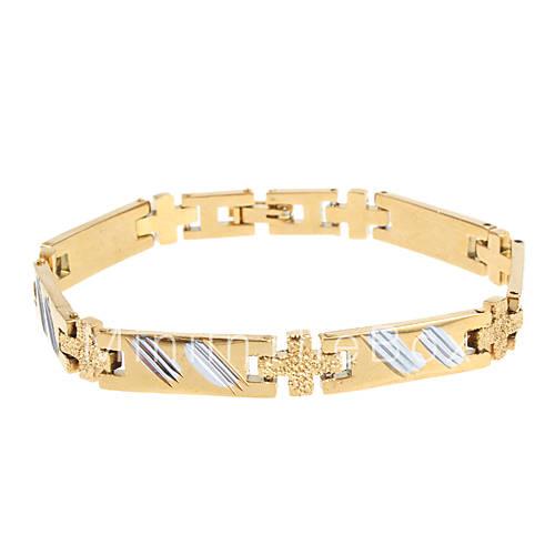 Купить Мужская высококачественных Медная Золотой браслет за 415 руб. от MINIINTHEBOX