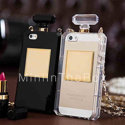 Sports Bottle Phone Case: Unique Perfume Bottle Bag Design Soft Case For IPhone 4/4S