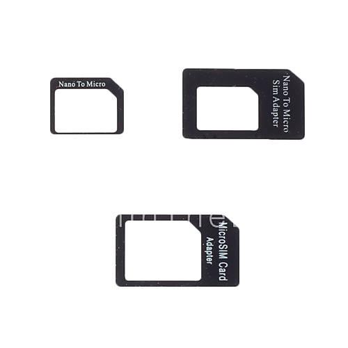 adattatore micro e nano sim per iphone 4 iphone 4s e iphone 5 del 417764 2017 a. Black Bedroom Furniture Sets. Home Design Ideas