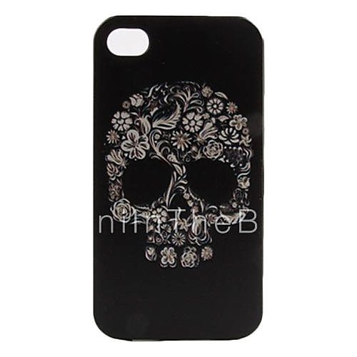 Colorful Skull Pattern Hard Case for iPhone 4/4S 591028 2017 – $3.99