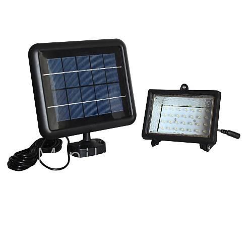 30LED Branco Solar lâmpada de inundação Sistema de Iluminação de