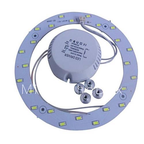 12w bianco 6500k 5730 x 24 smd led pannelli luminosi a soffitto con magnete potere del 1578720 ...