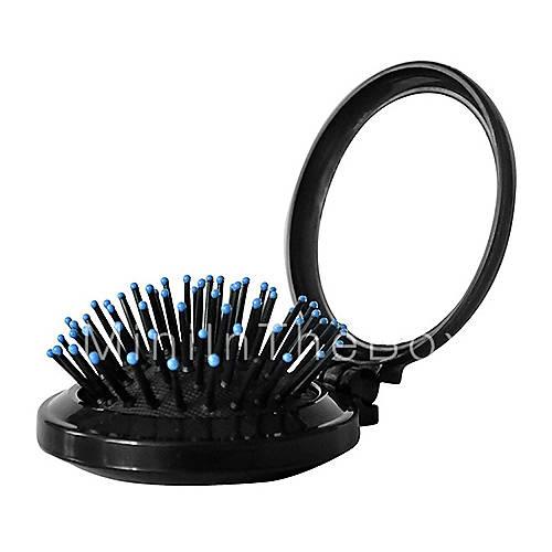 Mini ronde opvouwbare draagbare kleine spiegel met kam 1661822 2017 - Kleine ronde niet spiegel lieve ...