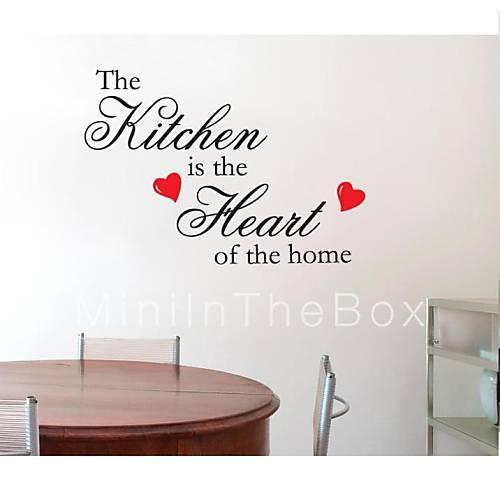 Keuken Decoratie Appel : jiubai ? keuken citaat home decoratie muursticker muurtattoo 2015