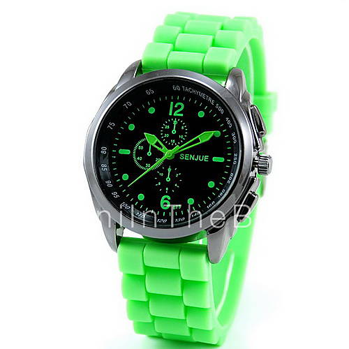men s sports silicone wrist cool