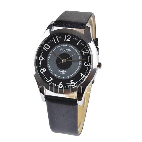 s cool style large numbers leather band
