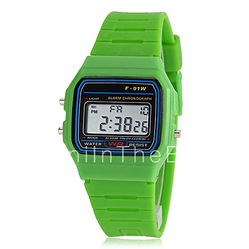 men s sports small size lcd multifunctional digital