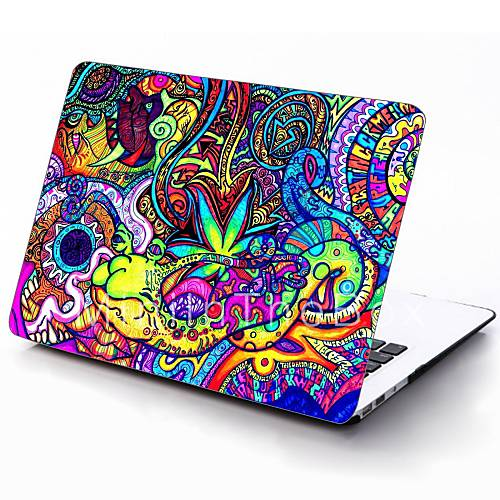 Macbook Air Cover Pattern ~ Colorful pattern full body protective plastic case for