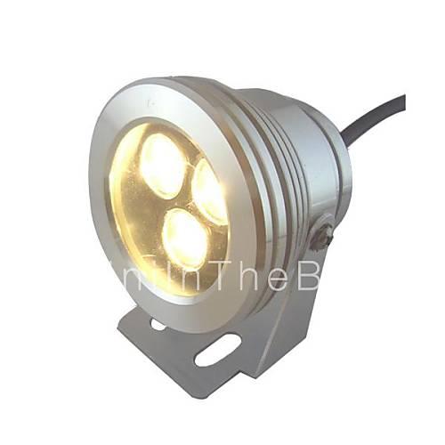 9w 3 leds ip68 blanc chaud ext rieur tanche ampoule led for Lampe exterieur etanche