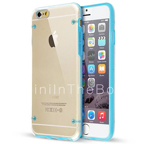 ultra transparent glow in dark case for iphone 6s 6 plus. Black Bedroom Furniture Sets. Home Design Ideas