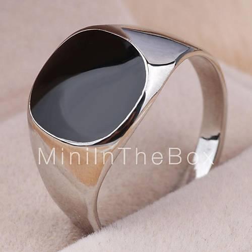 Купить старинные контракт сплав черный квадрат масла мужскую заявление кольцо в интернет магазине ОКЕАН СКИДОК по