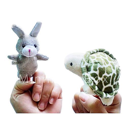 Giocattoli marionetta da dito animali cartone animato