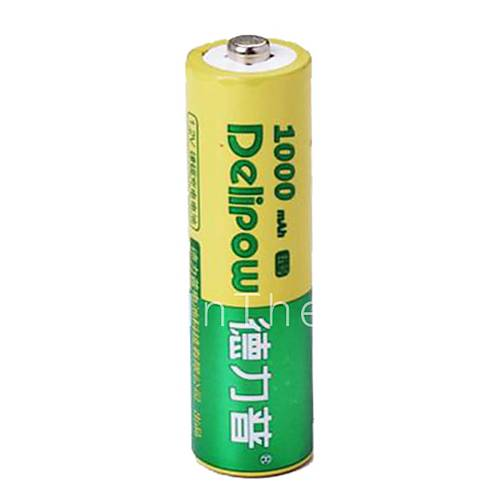 delipow 1 2v 1000mah aa rechargeable nickel cadmium battery 1pcs 2371899 2017. Black Bedroom Furniture Sets. Home Design Ideas