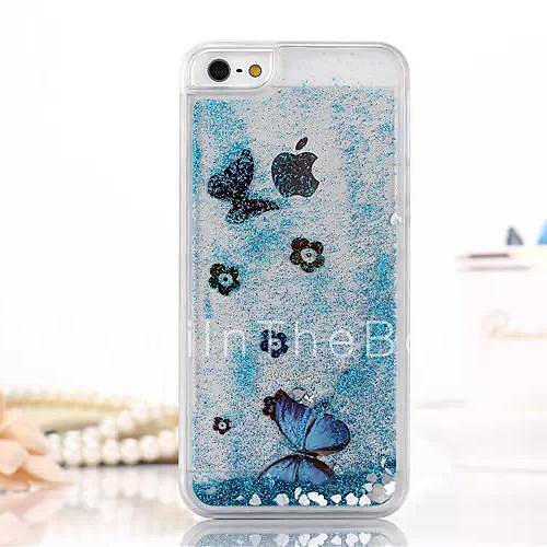 Fashion Transparent Glitter Sand Bling Quicksand Butterfly ...