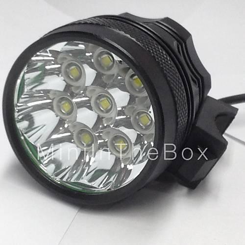 eclairage lampes frontales eclairage de v lo bicyclette led 8000lm lumens 3 mode cree xm l u2. Black Bedroom Furniture Sets. Home Design Ideas