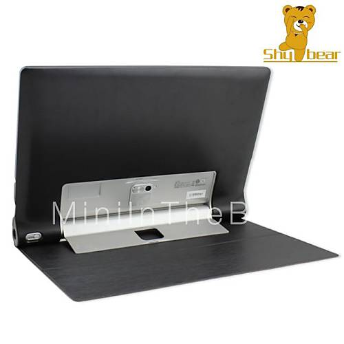 Shy bear 13 3 inch leather cover stand case for lenovo for 13 inch table