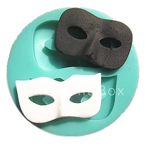 Keuken Decoratie Appel : Mask Chocolate Mold