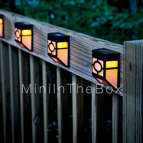 Solar House Wall Lights : Retro Solar LED Wall Light Garden Lights 784086 2017 USD 20.99