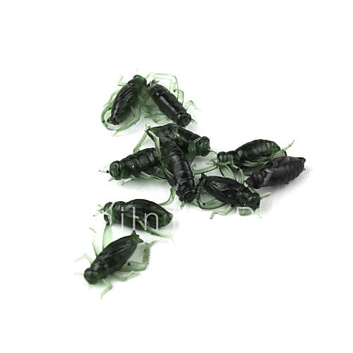 Fishing the cricket insect bionic bait 10pcs 3148192 for Fishing with crickets