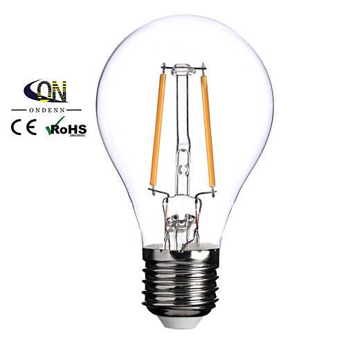 Lampade LED a incandescenza 2 COB ONDENN A E26/E27 2 W 200 LM Bianco caldo 1 pezzo AC 220-240 V ...