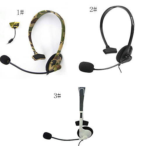 headset headphone with mic compatible with xbox 360 wireless controller 3020945 2017. Black Bedroom Furniture Sets. Home Design Ideas