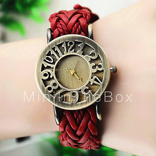Europese stijl mode punk stijl weven touw uitstekend alfabet verpakt horloges 3082346 2017 - Mode stijl amerikaans ...
