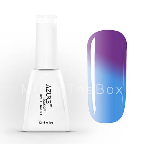 gel uv azur tremper le vernis 224 ongles de couleur change avec la temp 233 rature 37 48 12ml